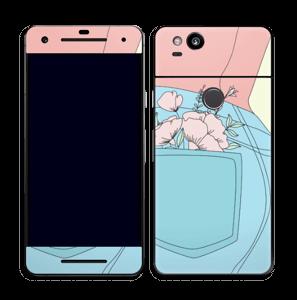 Fleurs de poche Skin Pixel 2