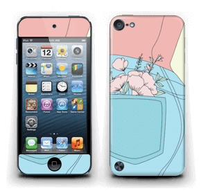 Floral Jeans Skin IPod Touch 5th Gen