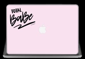 "Total Babe ! Skin MacBook Pro Retina 15"" 2015"