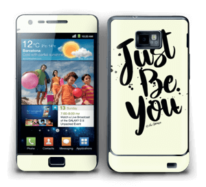 Just be You Skin Galaxy S2