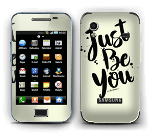 Just Be You Skin Galaxy Ace