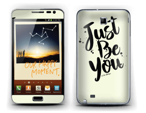 Just be You Skin Galaxy Note