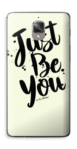 Just Be You Skin OnePlus 3