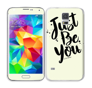 Just be You Skin Galaxy S5