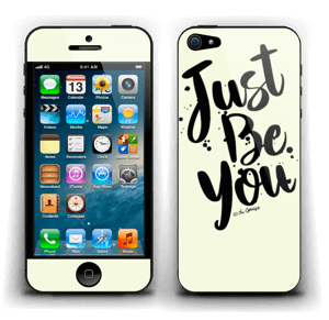 Just Be You Skin IPhone 5