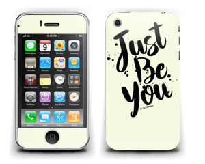 Just Be You Skin IPhone 3G/3GS
