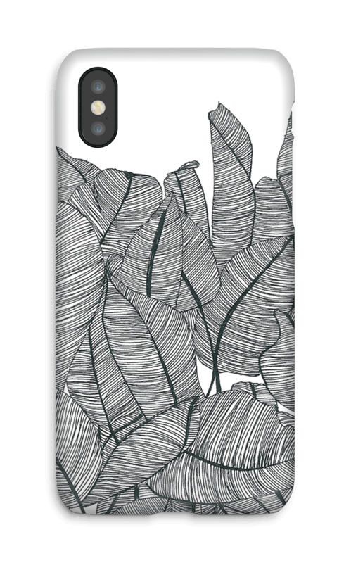 Banana Leaves Coque  IPhone X