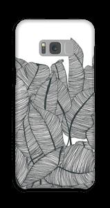 Bananen Blätter Handyhülle Galaxy S8 Plus