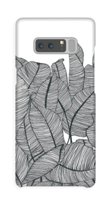 Banana Leaves Coque  Galaxy Note8