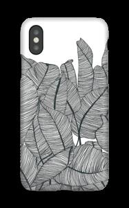 Banana Leaves deksel IPhone XS