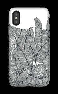 Banana Leaves deksel IPhone XS tough