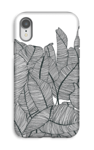 Banana Leaves Coque  IPhone XR tough