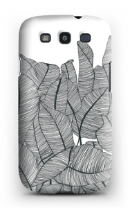 Bananen Blätter Handyhülle Galaxy S3