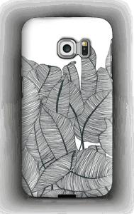 Banana Leaves deksel Galaxy S6 Edge