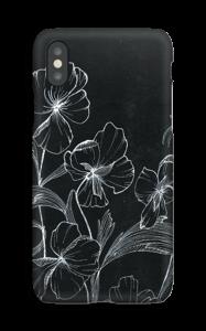 Blomsternatt deksel IPhone XS