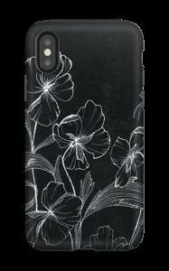 Blomsternatt deksel IPhone XS tough