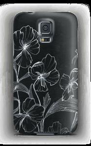 Blomsternatt deksel Galaxy S5