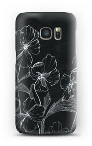 Wild Pansy case Galaxy S7
