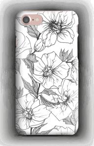 Winter Flowers deksel IPhone 7