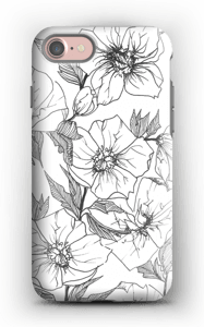 Winter Flowers Coque  IPhone 7 tough