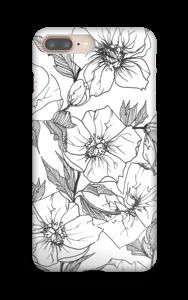 Winter Flowers Coque  IPhone 8 Plus
