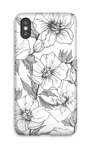 Winter Flowers Coque  IPhone X