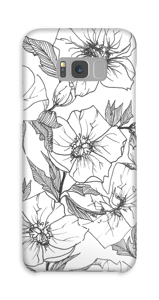 Winter Flowers Coque  Galaxy S8 Plus
