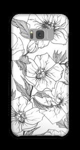 Winterblumen Handyhülle Galaxy S8 Plus