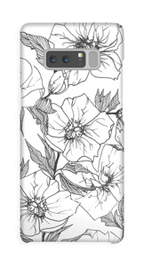 Winter Flowers Coque  Galaxy Note8