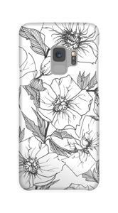 Winter Flowers Coque  Galaxy S9