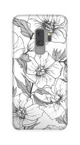Winter Flowers Coque  Galaxy S9 Plus