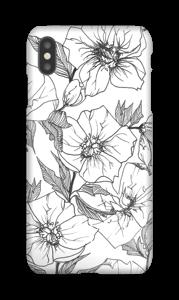 Winterblumen Handyhülle IPhone XS Max