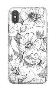 Winter Flowers Coque  IPhone XS Max tough