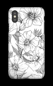 Winter Flowers deksel IPhone XS