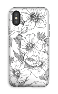 Winter Flowers Coque  IPhone XS tough