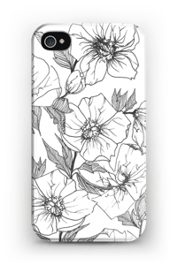 Winter Flowers Coque  IPhone 4/4s