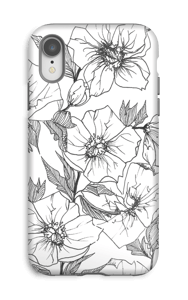 Winter Flowers Coque  IPhone XR tough