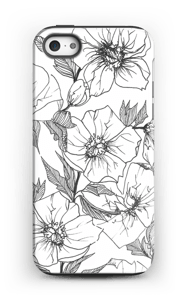 Winter Flowers Coque  IPhone 5/5s tough