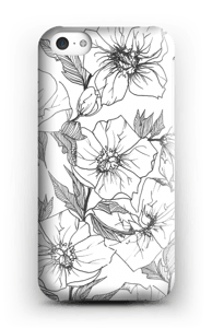 Winterblumen Handyhülle IPhone 5c