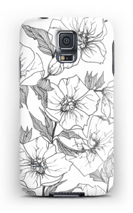 Winter Flowers Coque  Galaxy S5