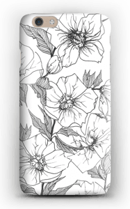 Winter Flowers Coque  IPhone 6