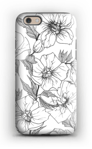 Winter Flowers Coque  IPhone 6 tough