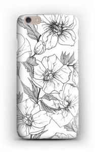 Winter Flowers Coque  IPhone 6 Plus