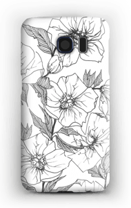 Winter Flowers Coque  Galaxy S6
