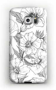 Winter Flowers Coque  Galaxy S6 Edge