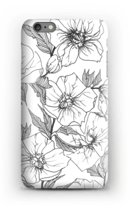 Winter Flowers Coque  IPhone 6s Plus