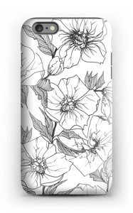 Winter Flowers Coque  IPhone 6 Plus tough