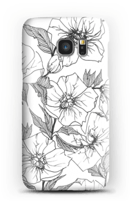 Winter Flowers Coque  Galaxy S7