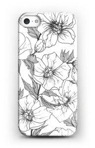 Winter Flowers Coque  IPhone SE