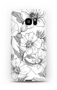 Winter Flowers Coque  Galaxy S7 Edge